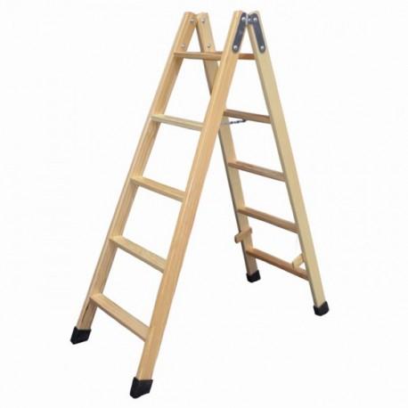 escalera madera 5 pelda os escalera 1 tramo 9 pelda os