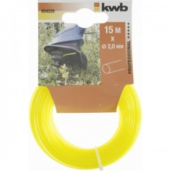 HILO NYLON AMARILLO 2,0 MM X 15 M SB