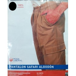 PANTALON SAFARI ALGODON