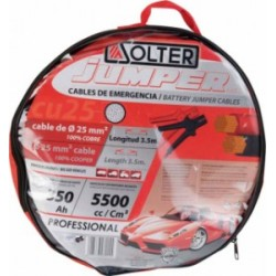 CABLES DE ARRANQUE SOLTER CU 16MM/3M/220A