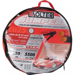CABLES DE ARRANQUE SOLTER CU 25MM/3,5MM/350A