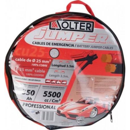 CABLES DE ARRANQUE SOLTER CU 25MM/3,5MM/350A