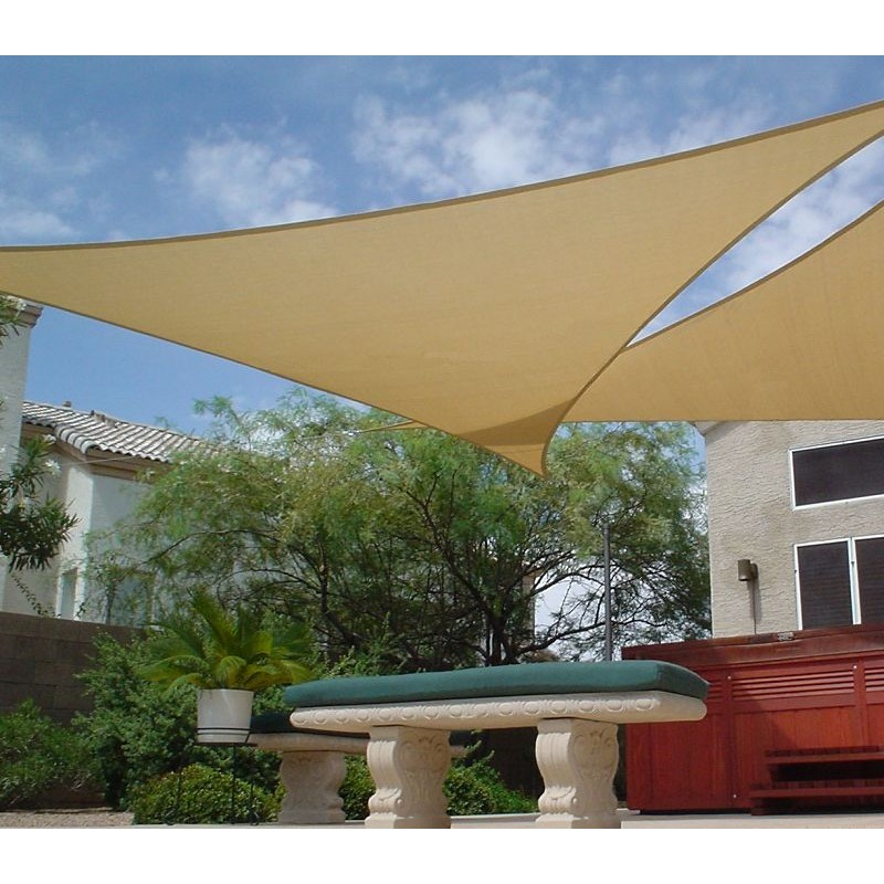 Toldo vela toldo vela triangular decora tu jardin for Colocacion de toldos