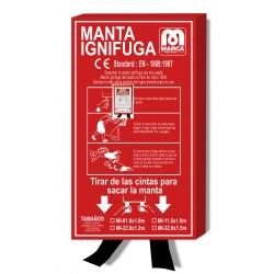 MANTA IGNIFUGA 100 x 100 cm