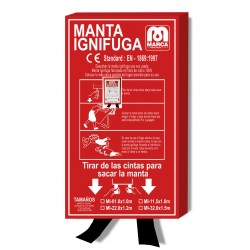 MANTA IGNIFUGA 150x100 cm.